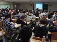 地元岡山大学での講義をさせて頂きました。